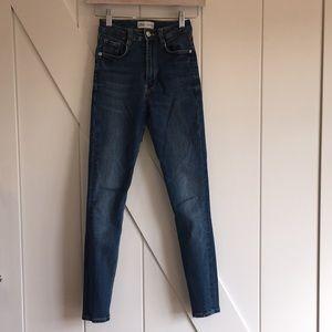 ZARA Skinny Jeans Size 0